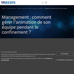 Management & confinement : animer son équipe