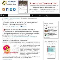 Qu'est-ce que le Knowledge management Gestion de la connaissance