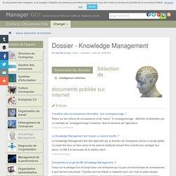 Cours, articles sur le Knowledge Management (KM) et gestion de la connaissance, Manager GO! : des liens pertinents