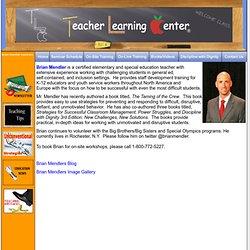 Brian Mendler Classroom Management consultant