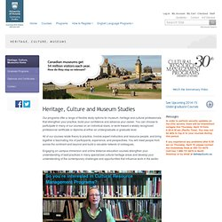 Continuing Studies - Best Practices For Museum Website Design -