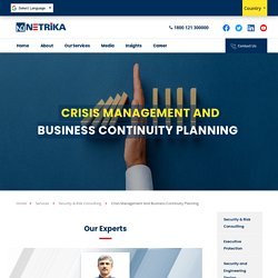 Crisis Management and Business Continuity Planning - Netrika