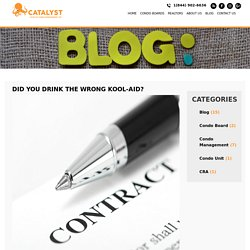 What is your condo management contract actually covering?