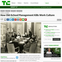 How Old-School Management Kills Work Culture