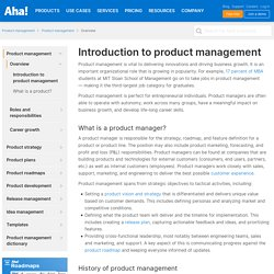 Product Management Definition and Examples