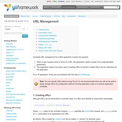Special Topics: URL Management