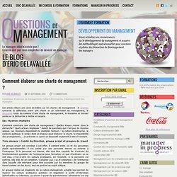 Comment élaborer une charte de management ?