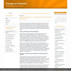 Le yield management : comment déterminer le prix d'un billet d'avion ? : Voyage et tourisme