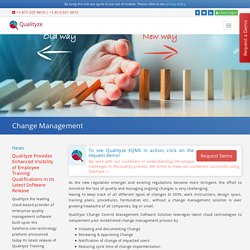 Change Management Process for Software Development