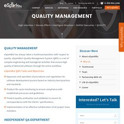 Quality Management , Project Development Quality