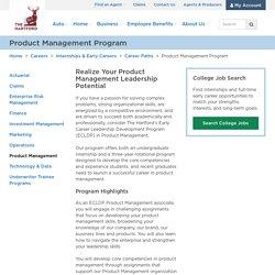 Product Management Leadership Development Program