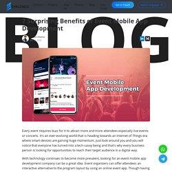 Event Management App Development Company India Chandigarh