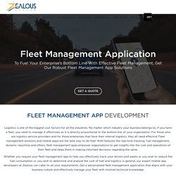 Fleet Management App Development for iOS and Android