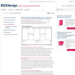 Business Model Management pour l'innovation et le développement de modèle économique