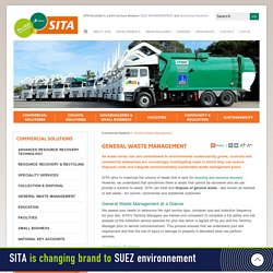 The Best Waste Management Services - SITA