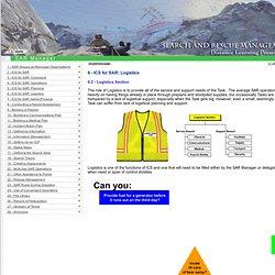 SAR Management Distance Learning Program