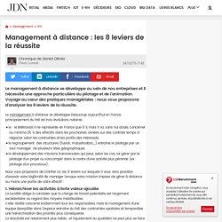 Management à distance : les 8 leviers de la réussite