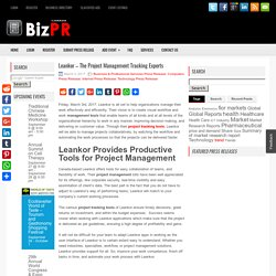 Leankor - The Project Management Tracking Experts - BizPR.ca