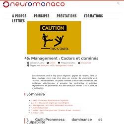 45: Management : Cadors et dominés