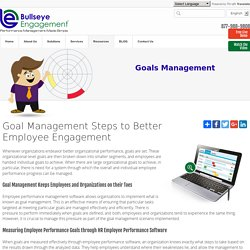 Setting Employee Goals effectively