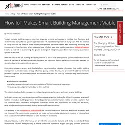 How IoT Makes Smart Building Management Viable