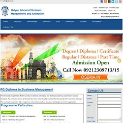 MGU PG Diploma Business Management, Duration, Fees, Eligibility
