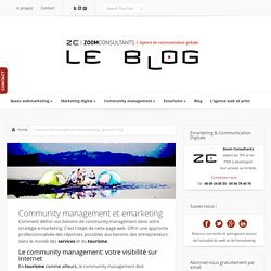 Community management et emarketing
