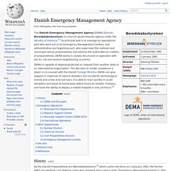Danish Emergency Management Agency
