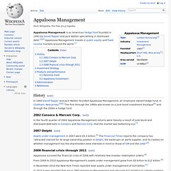 Appaloosa Management