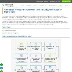 Admission Management System
