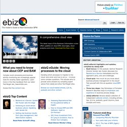 An SOA, BPM, Decision Management and Cloud Computing Guide for the Enterprise Community.