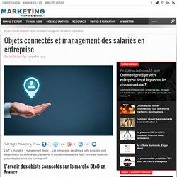 Objets connectés et management des salariés en entreprise