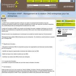 Formation WWF : Management de la relation ONG-entreprises pour les entreprises