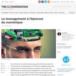 Le management à l'épreuve du numérique