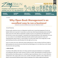 Why Open Book Management is an excellent way to run a business!