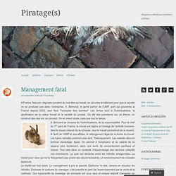 Management fatal « Piratage(s)