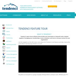 Easy-to-Use Content Management System Features - - Tendenci The Open Source Membership Management Software