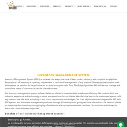 Inventory Management System - FiveSdigital