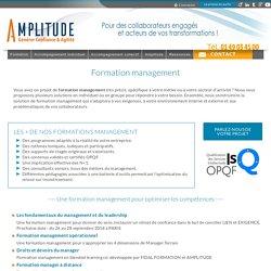 Formation management : formations pour manager d'équipe - AMPLITUDE