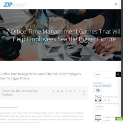 Time Management Games - Free Online Time Management Games for Office