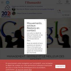 Management : Google et le meilleur des mondes