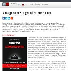 Management : le grand retour du réel