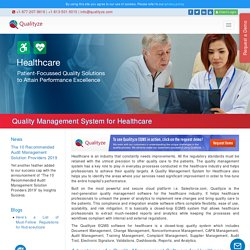 Quality Management System for Healthcare Industry