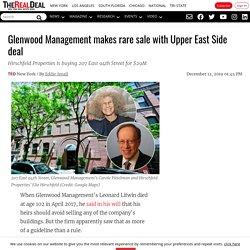 Glenwood Management Sells 207 East 94th Street to Hirschfeld Properties