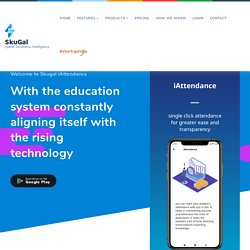 School management software In-Built iAttendance on Machine Learning