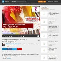 Management des risques ibtissam el hassani-chapitre1-2