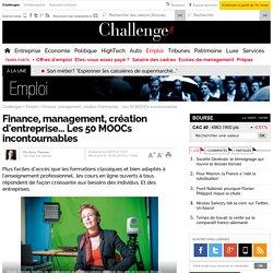 Finance, management, création d'entreprise... Les 50 MOOCs incontournables- 18 février 2015