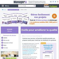Les outils pour le management de la qualité : les incontournables