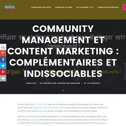 Community management et création de contenu sont indissociables