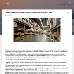 Best Warehouse management software-Erpisto